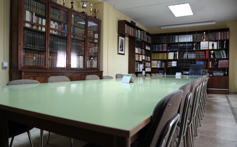 Sala De Profesores Colegio San Isidoro Granada