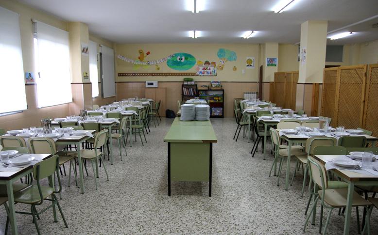 Comedor Escolar Colegio San Isidoro Granada