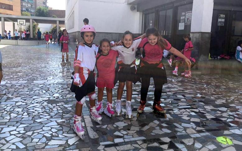 Patinaje en Línea Colegio San Isidoro Granada