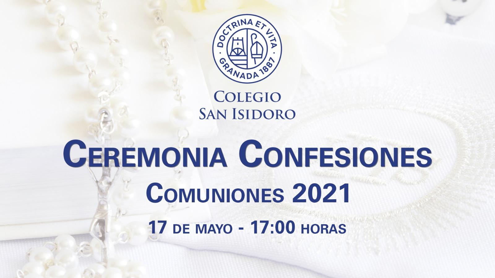 CARTEL CEREMONIA CONFESIONES