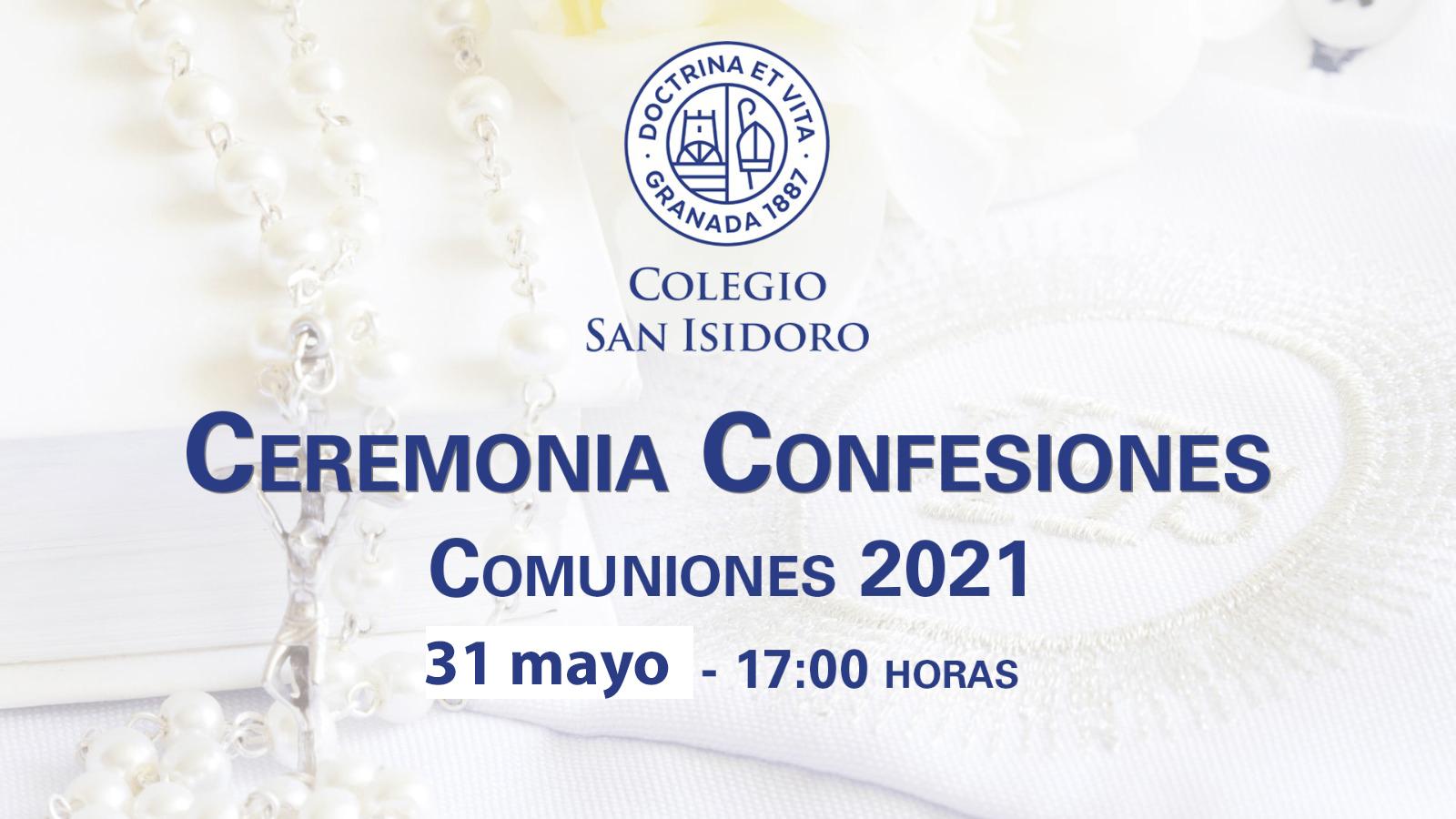 CARTEL CEREMONIA CONFESIONES 2